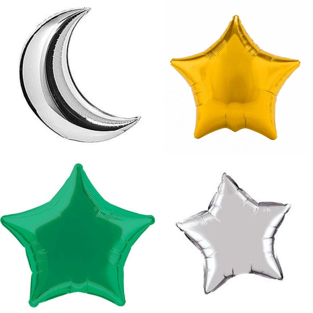 Eid Foil Balloons (Set of 4)