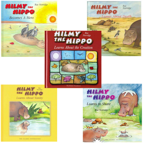 Bundle: Hilmy the Hippo Series (5 Books)
