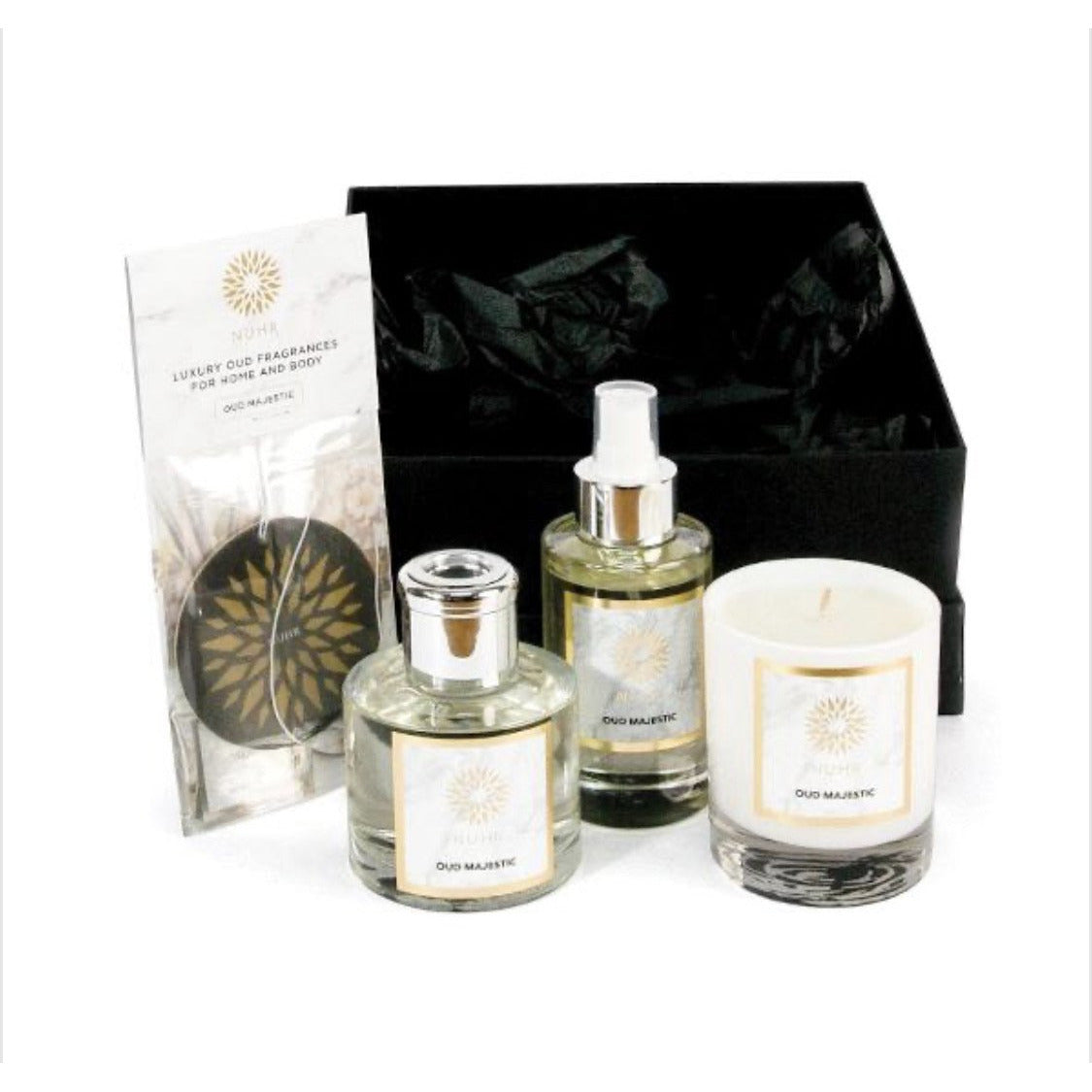 Complete Luxury Home Fragrance Gift Set - Oud Arabia