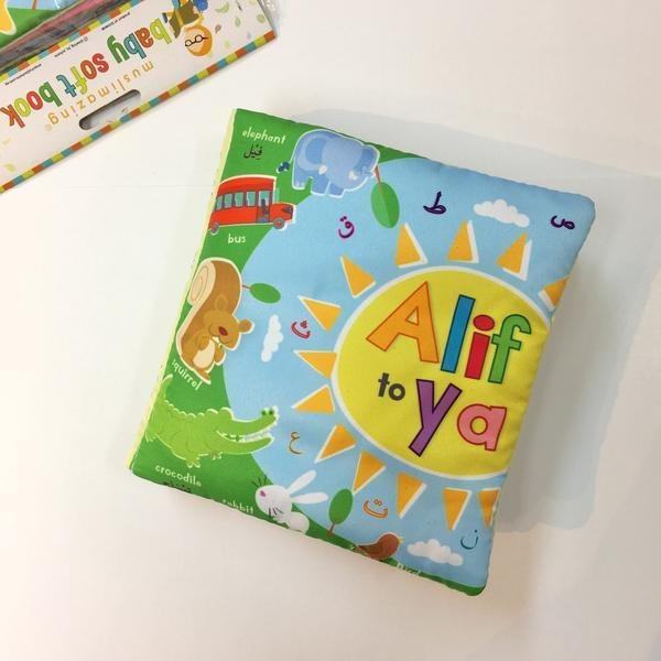 Alif to Ya Soft Book: Arabic Alphabet (Cloth Book)