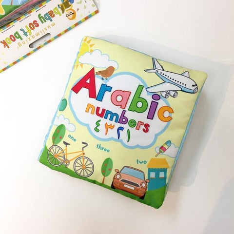 Arabic Numbers Soft Book (Cloth Book)