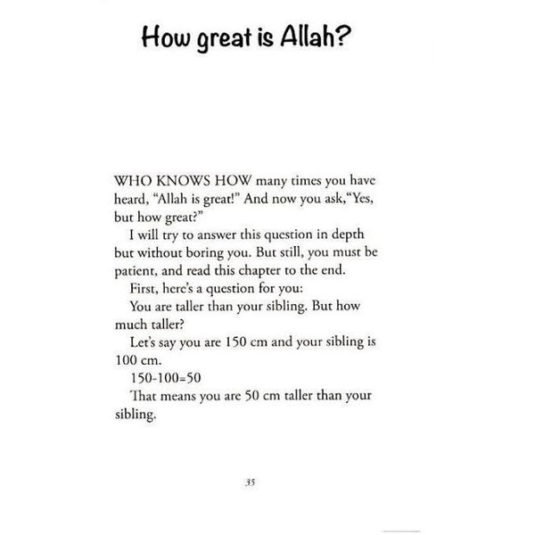 I Wonder About Allah (Book 1)