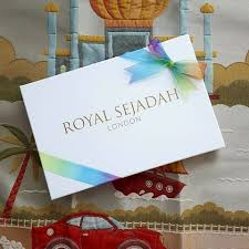 Royal Sejadah - Kids' Luxury Blue Prayer Mat / Rug