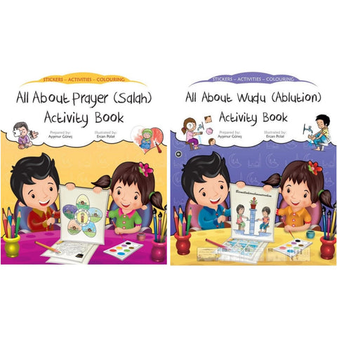Bundle: Salah + Wudu Activity Books