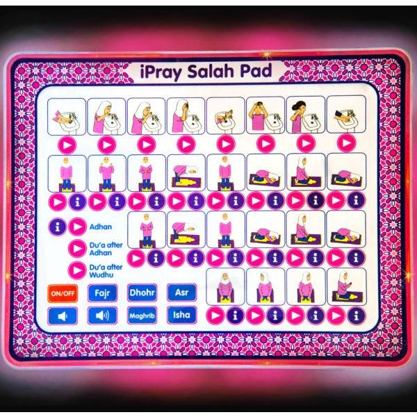 iPray Salah Pad for Girls
