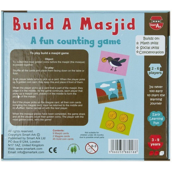 Build a Masjid: A Fun Counting Game