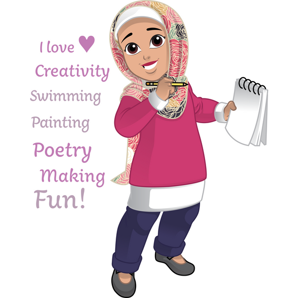 Salam Sisters: Maryam - artistic, loves surfing, learning to code