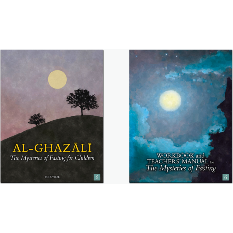 Al-Ghazali Children's Book Set 6 (The Mysteries of Fasting) - Set of 2 Books