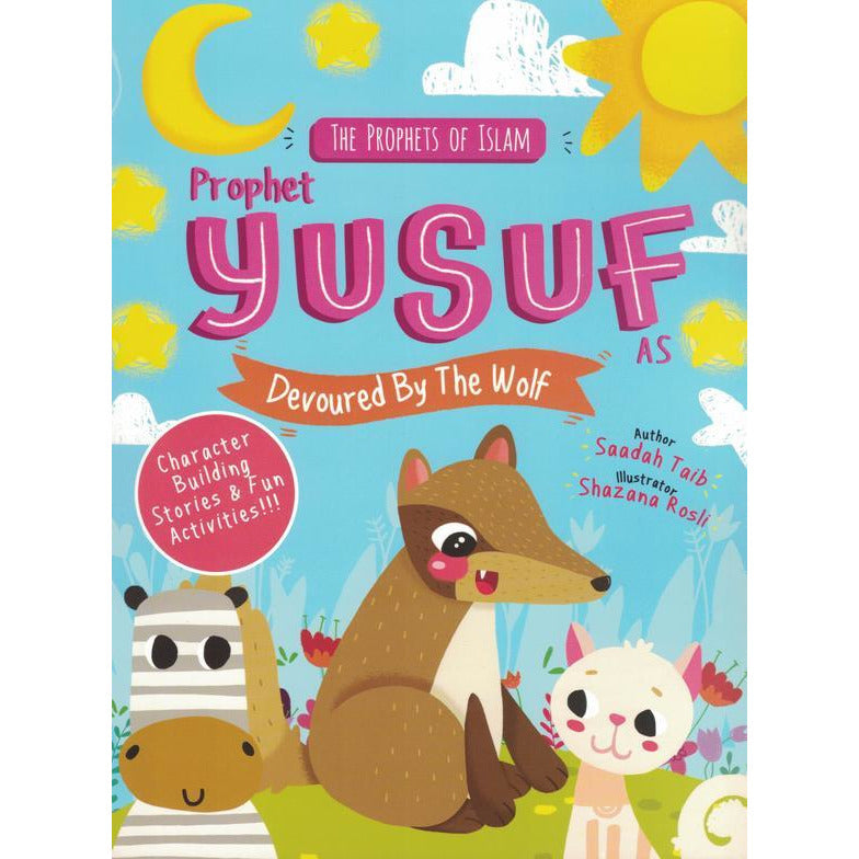 Prophet Yusuf Devoured by the Wolf Activity Book