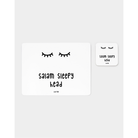 Lila & Tiny: Salam Placemat and Coaster