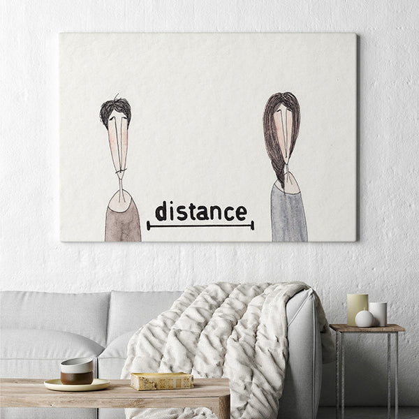Distance Ekinakis Watercolour