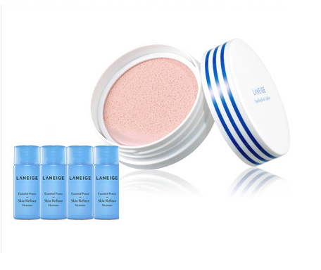 [LANEIGE] Sparkling Body Cushion 4-in-1 Body Makeup Cushion 35g