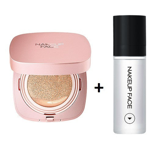 [NAKEUP FACE] Coverking Powder Cushion + Glam Fixer