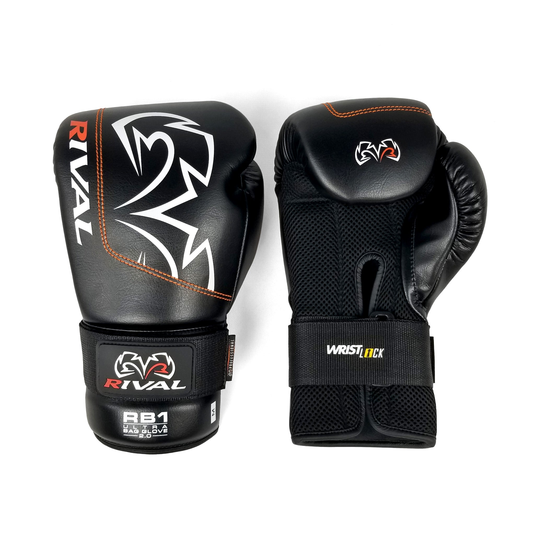 Red Rival Boxing RB1 Hook and Loop Ultra Bag Gloves
