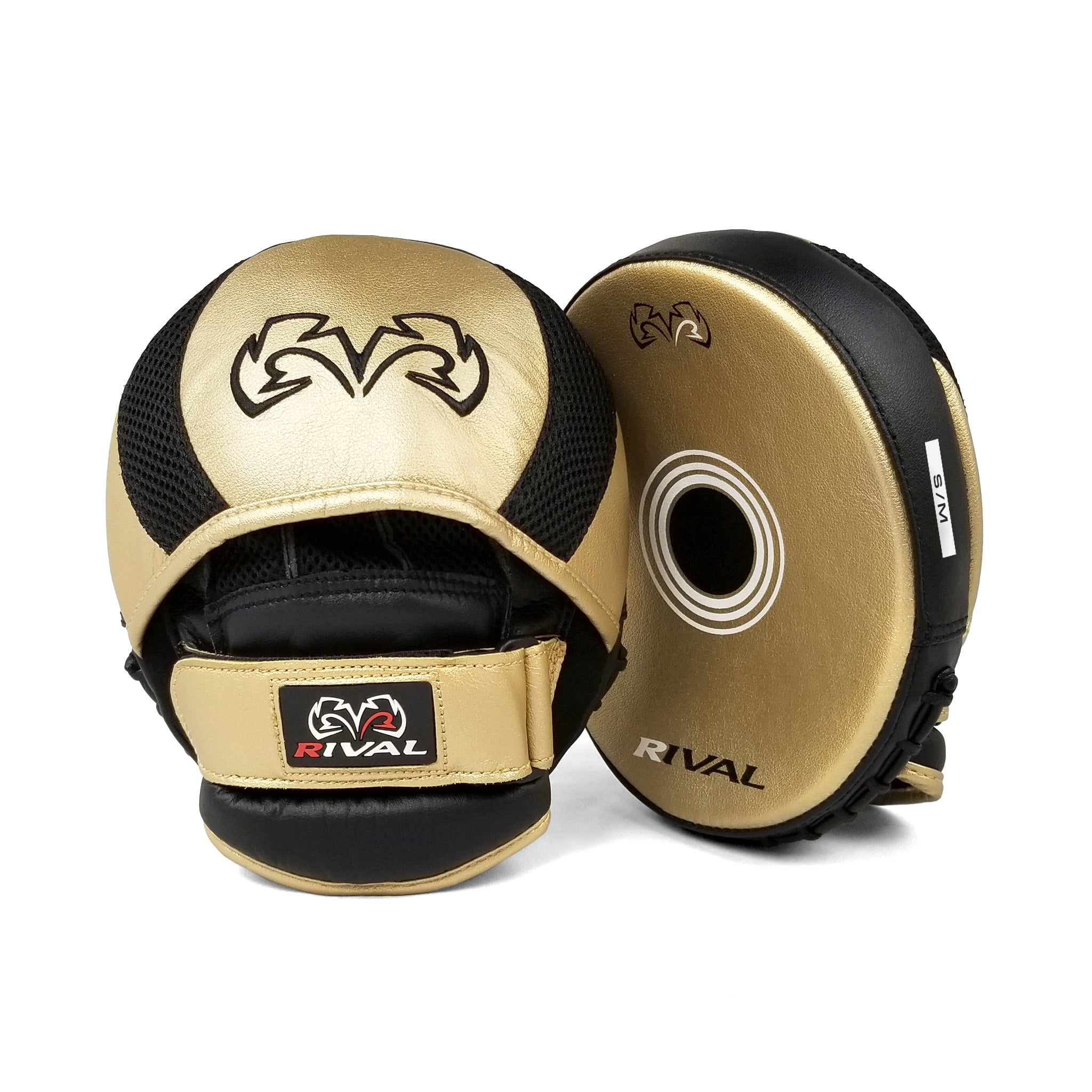 Rival Boxing Parabolic Punch Mitts with Finger Cover