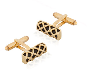 Load image into Gallery viewer, Yellow Gold Cufflinks