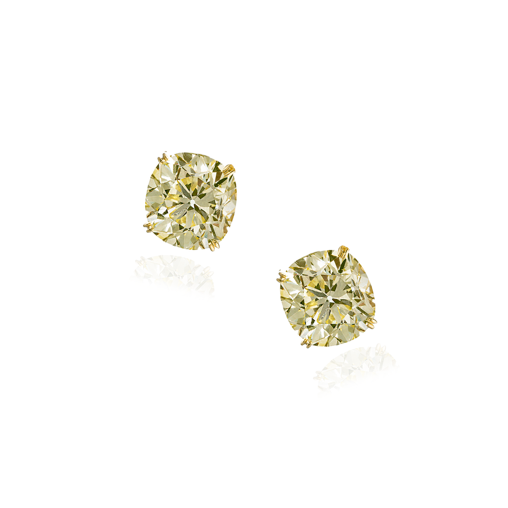 18K Gold Studd Earrings