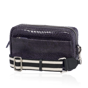 Load image into Gallery viewer, Purple Python Bag