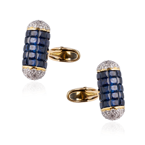 Load image into Gallery viewer, 18K Yellow Gold Cufflinks