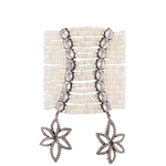 18k White Gold Bracelet with Pearls