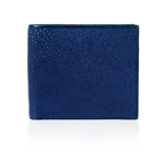 Blue Stingray Leather Wallet