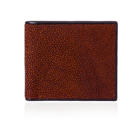 Brown Stingray Leather Wallet