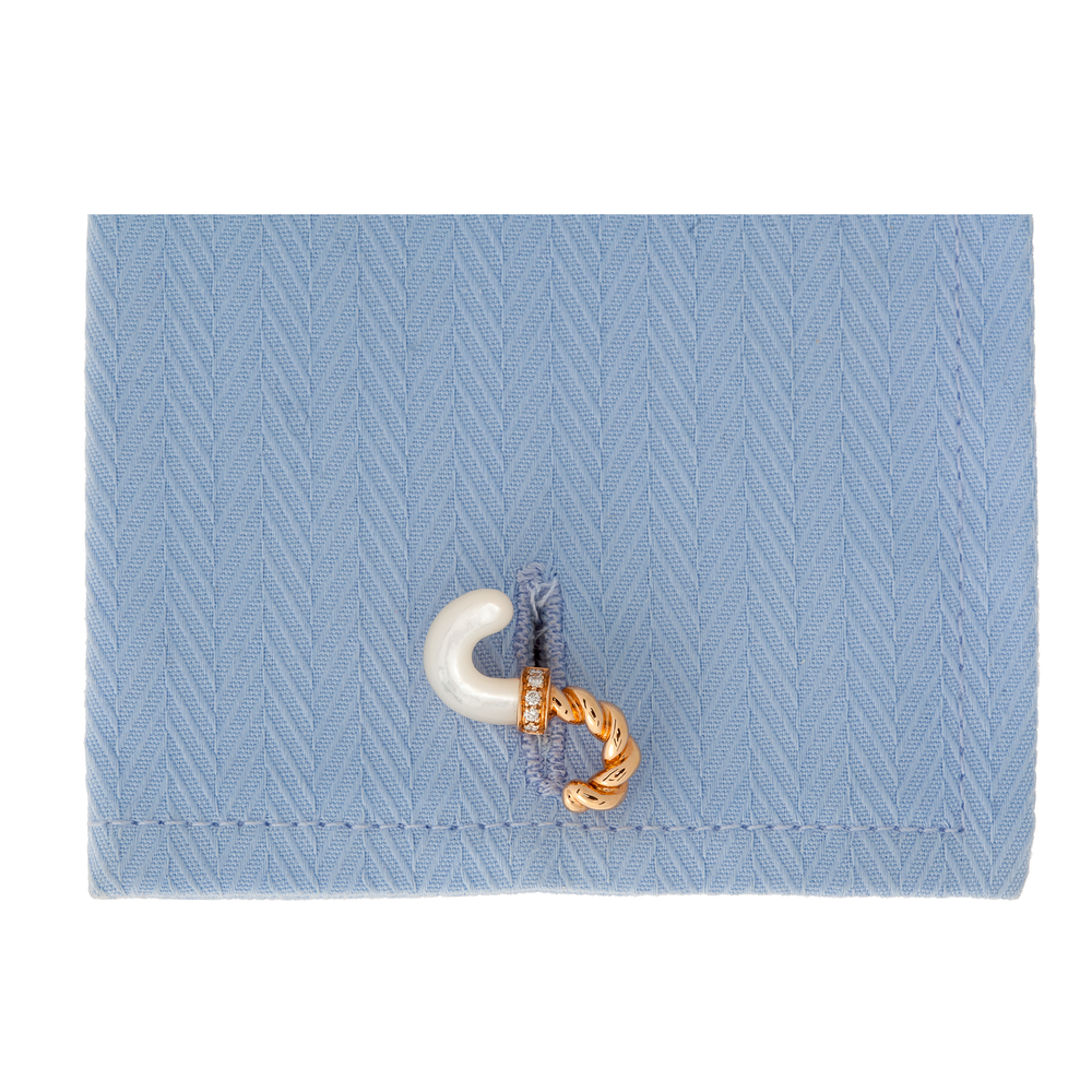18K Rose Gold Cufflinks