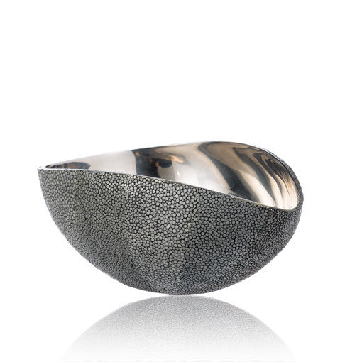 Grey Stingray Stainless Steel Bowl