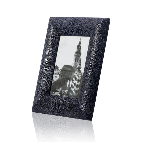 Blue Stingray Leather Picture Frame