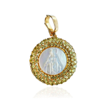 18K Gold Medal of Our Lady Grace