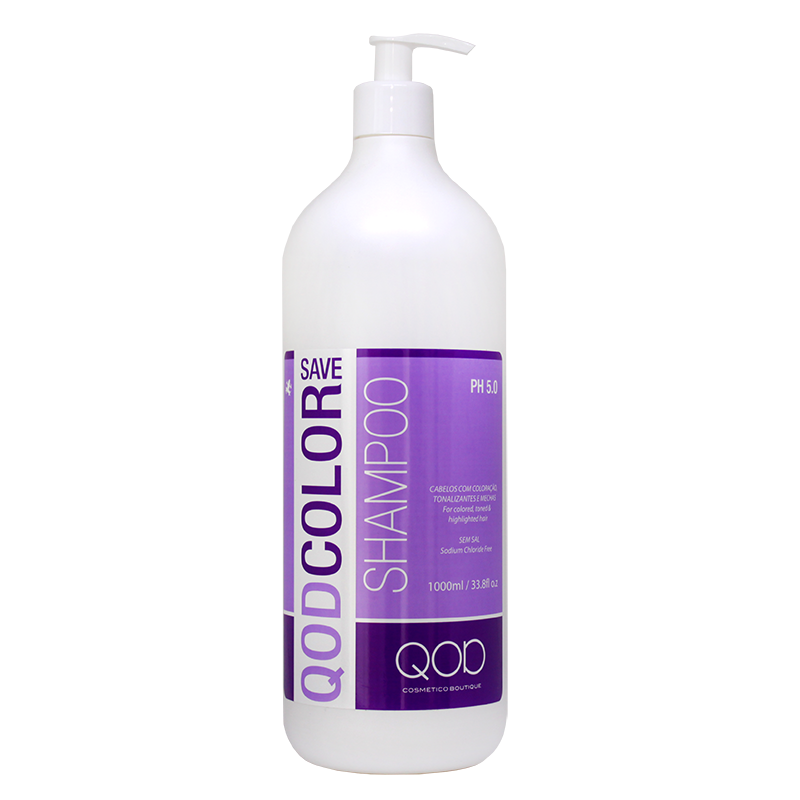 QOD COLOR SAVE SALT FREE SHAMPOO 1000ml