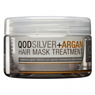 QOD SILVER + ARGAN HAIR MASK TREATMENT 210g