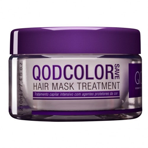 QOD COLOR SAVE SALT FREE HAIR MASK TREATMENT 210g
