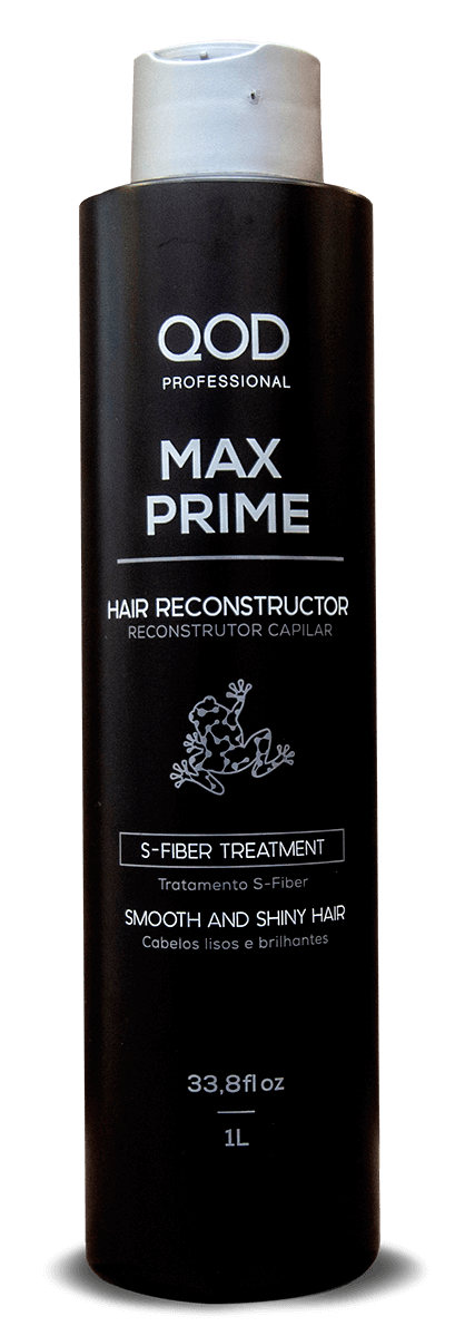 QOD MAX PRIME S-FIBER KERATIN HAIR TREATMENT KIT 4