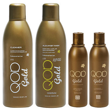 QOD GOLD ALQUIMIST KERATIN TREATMENT KIT