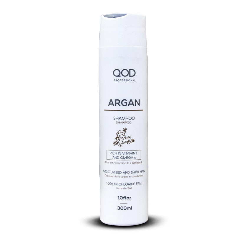QOD ARGAN SALT FREE SHAMPOO 300ml x 6