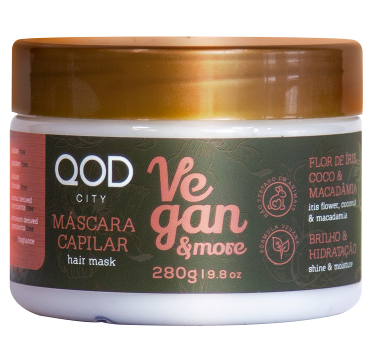 LUXURY QOD CITY VEGAN AND MORE SALT FREE MASK 280ml