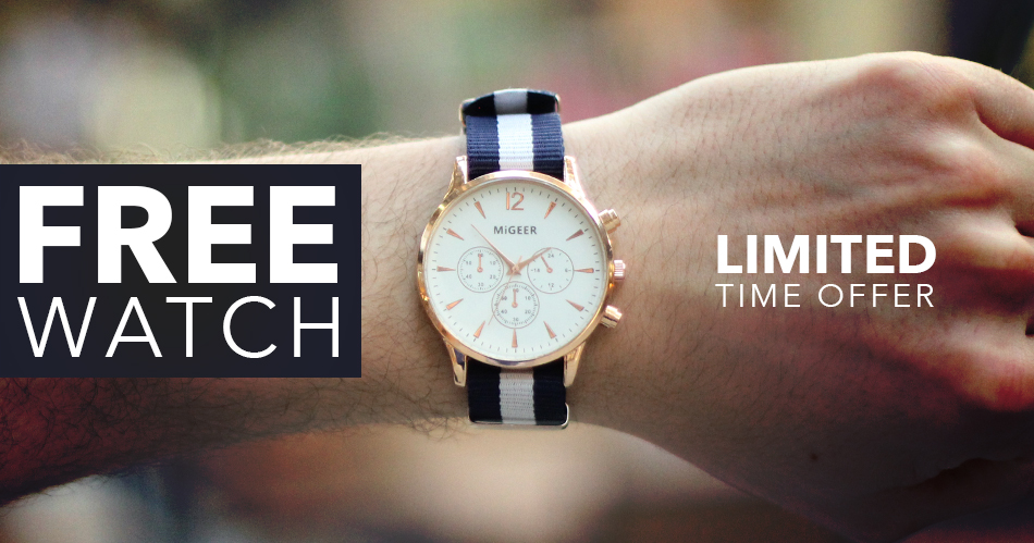 Free Casual Sport Watch