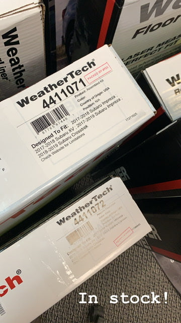 Weathertech Floorliners In-stock!