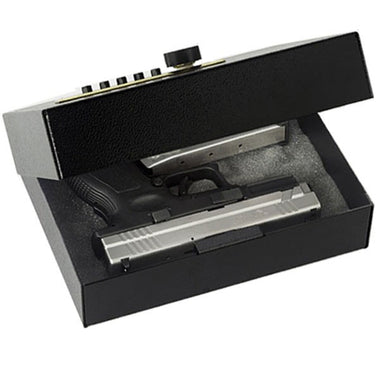 V-Line 5 Button Lock Compact Hand Gun Safe - .05 Cu Ft - www.modernvaults.com