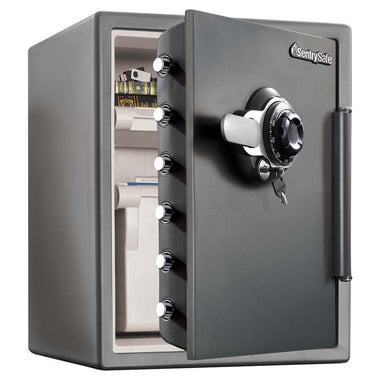 SentrySafe 1 Hour UL Fire Rated Safe with Combination and Key Lock - 2 Cu Ft - www.modernvaults.com