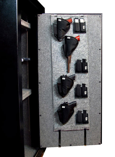 Stealth Door Panel Organizer & XL Pistol Kit - www.modernvaults.com