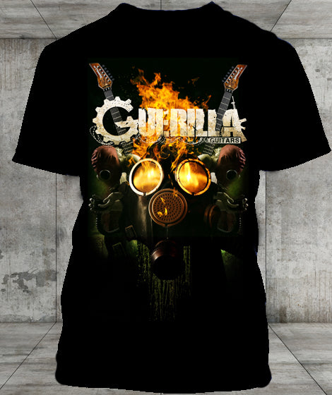 Gas Mask Short Sleeve T-Shirt