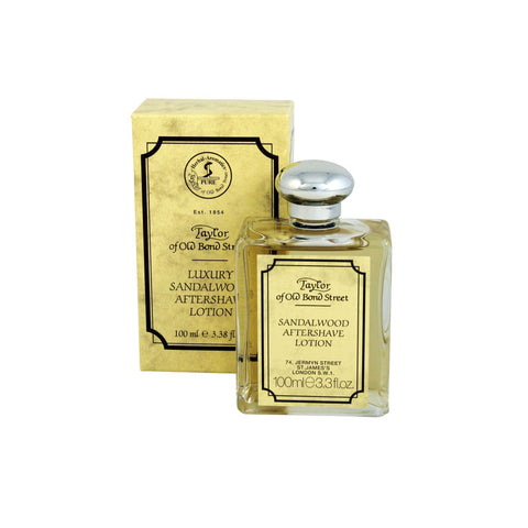 Taylor of Old Bond Street Aftershave Lotion Sandalwood 100ml