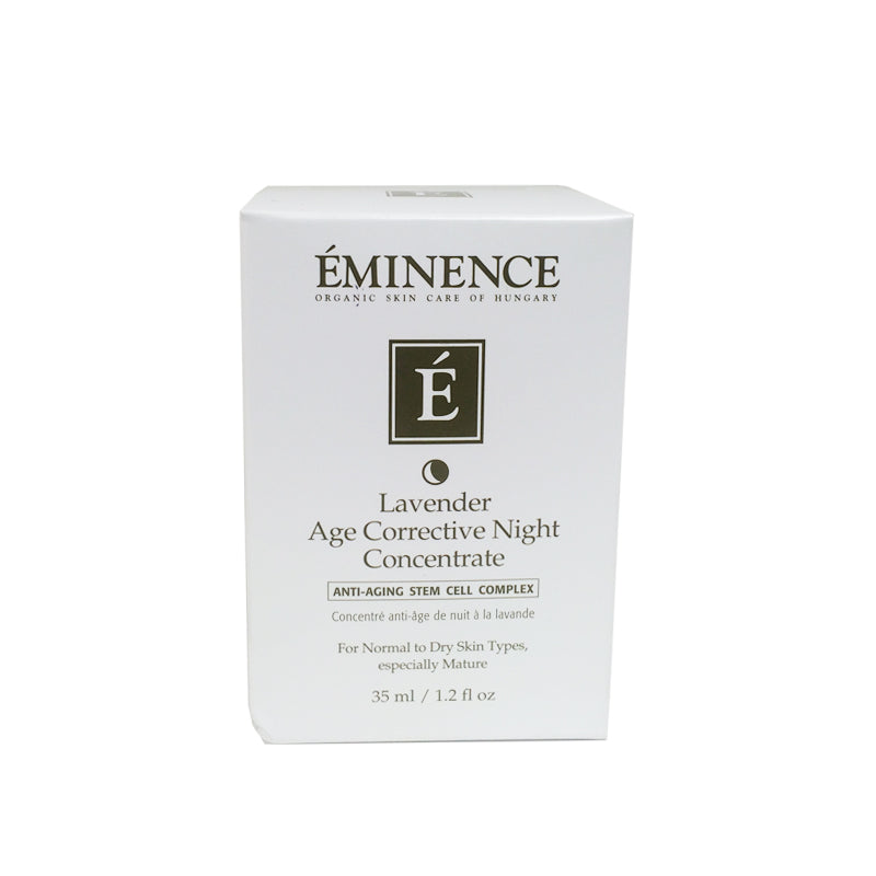 Eminence Lavender Age Corrective Night Concentrate 1.2oz 35ml