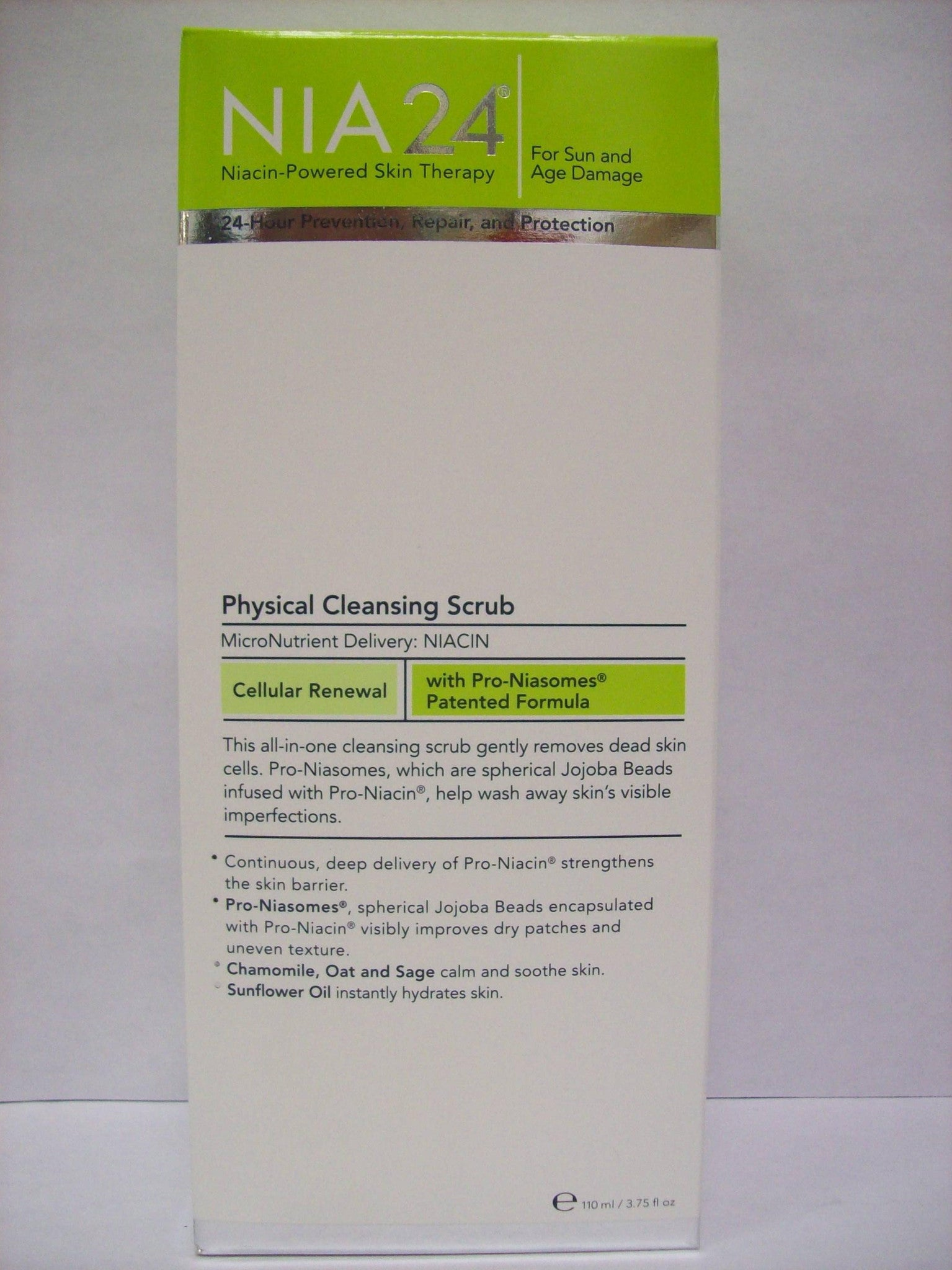 NIA24 Physical Cleansing Scrub, 3.75oz/110ml