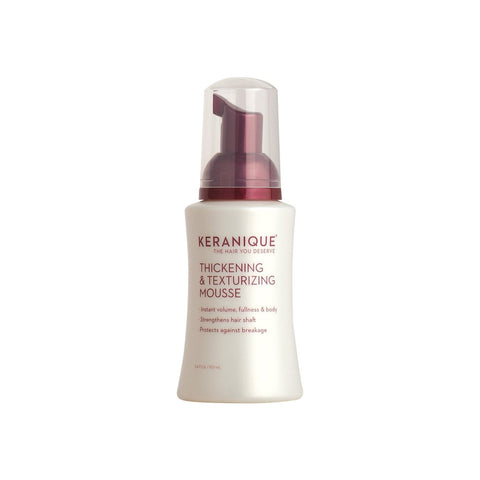 Keranique Thickening and Texturizing Mousse - 3.4oz