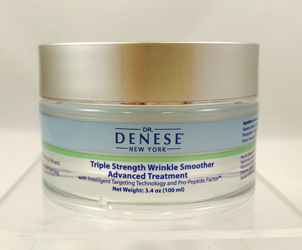 Dr. Denese Triple Strength Wrinkle Smoother Advanced Treatment 3.4 oz