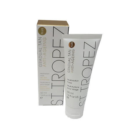 St Tropez Gradual Tan Plus Anti-Aging Face, 1.69 fl oz / 50 ml