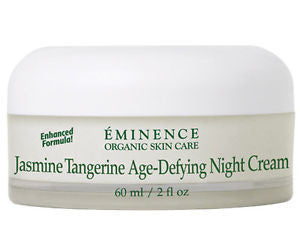 Eminence Jasmine Tangerine Age-Defying Night Cream, 2 oz (60ml)